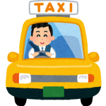 タクシーイラスト